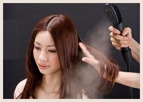 パルッキーを使った髪の毛に優しいヘアカラー・パーマ